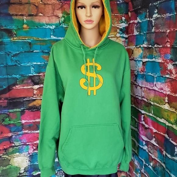 Dollar Sign Hoodie Sweatshirt